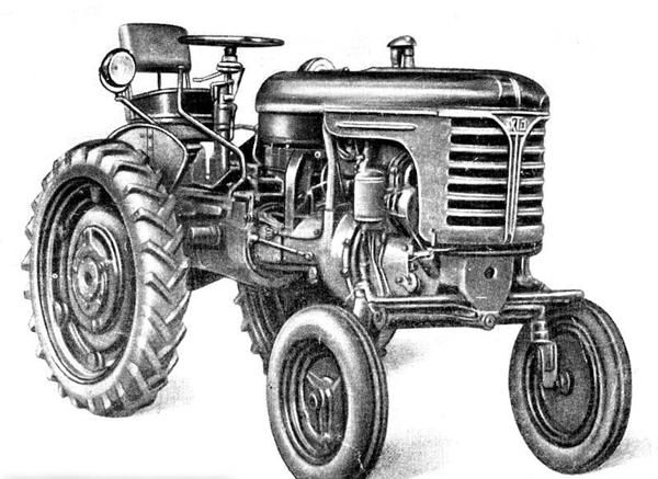 трактор ДТ-14а производства ХТЗ