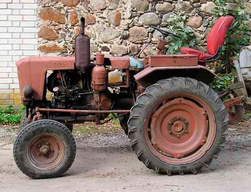 Колесный трактор Т-19 Харьковского Тракторного Завода